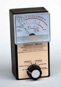 MAGNETIC, ELECTRIC, RADIO AND MICROWAVE DETECTOR