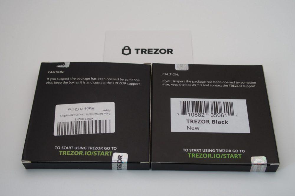 Public Service Announcement. Non-genuine Trezor One Devices Spotted (#GotBitcoin?)