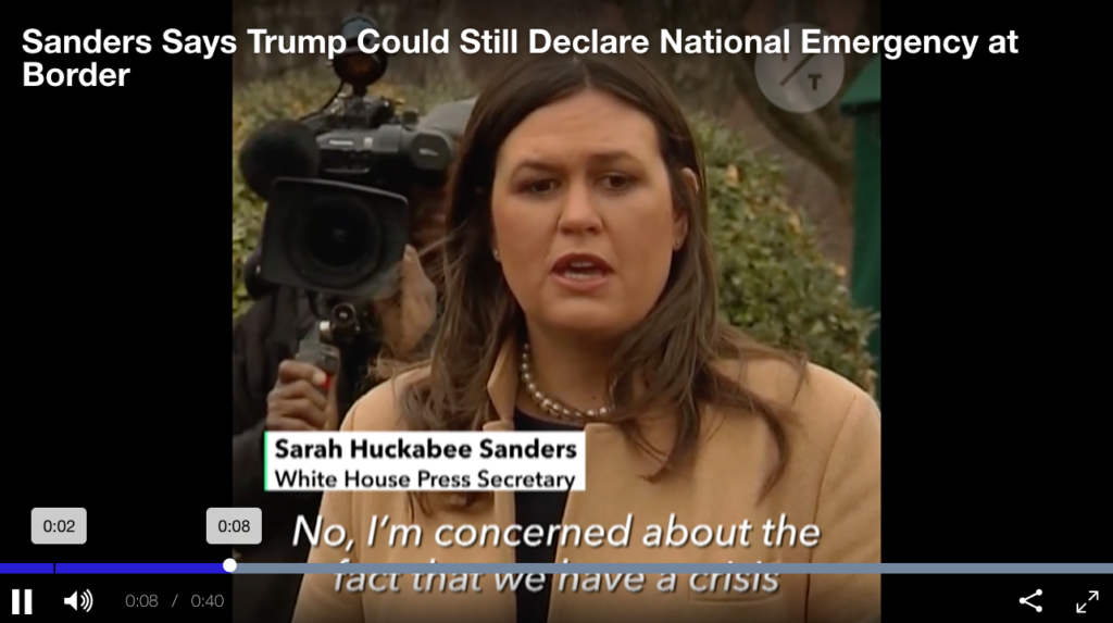 Declaring A National Emergency Could Give Trump Authority ...