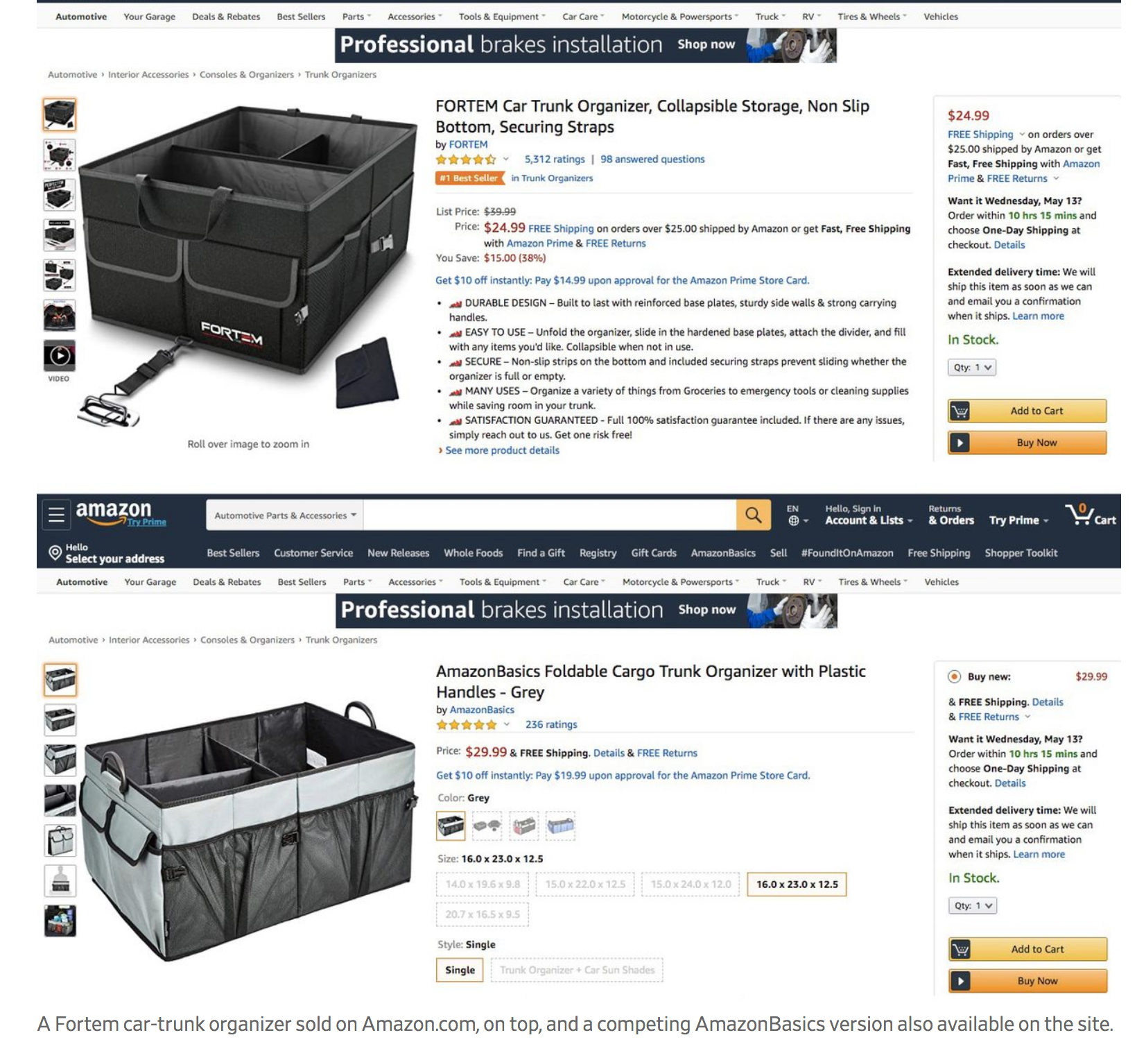 Amazon Tests Pop-Up Feature Touting Its Lower-Priced Products Over Resellers (#GotBitcoin?)