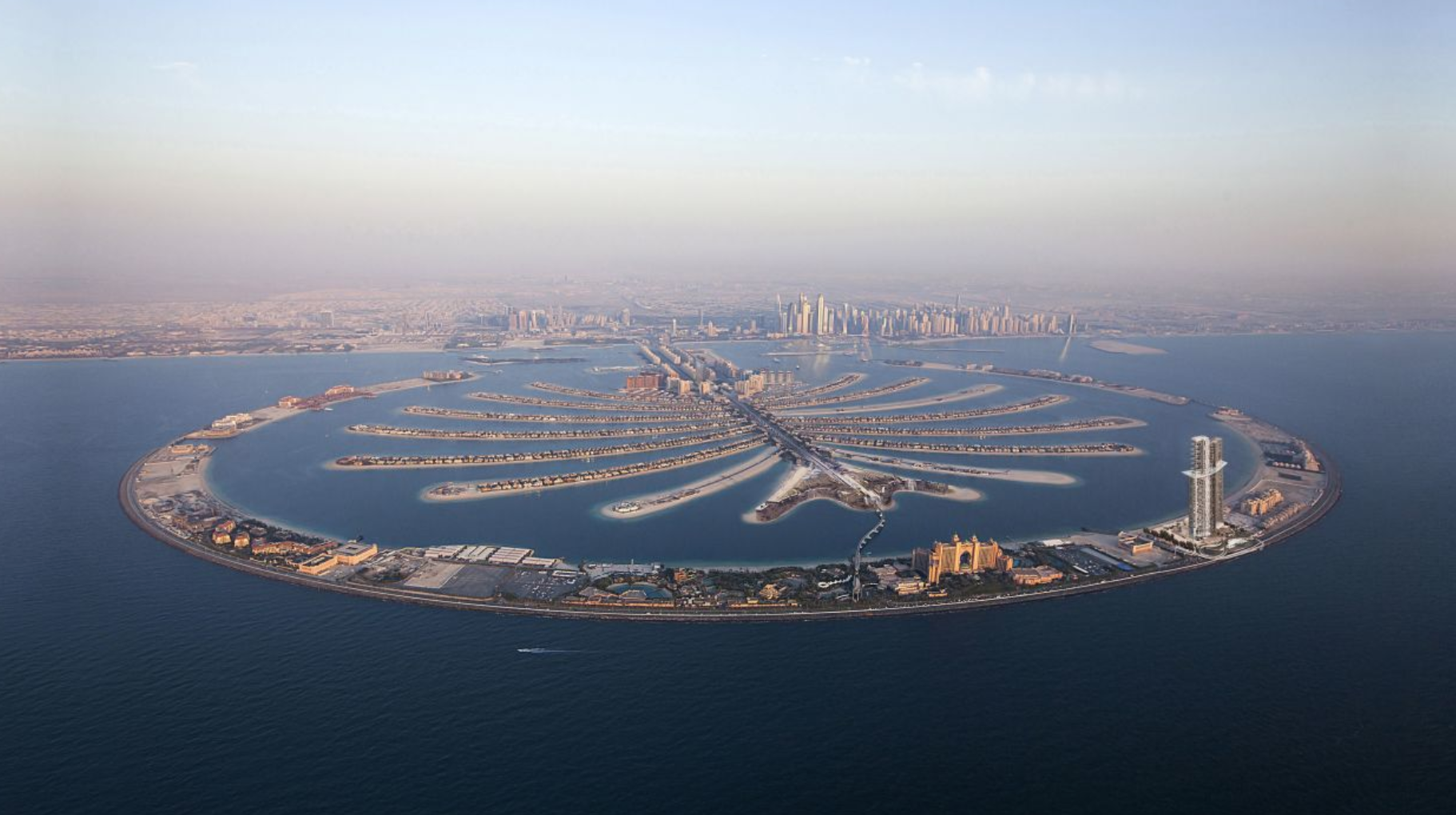 Dubai's Palm Jumeirah Ready For Showtime Minus 48-story Trump Tower (#GotBitcoin?)