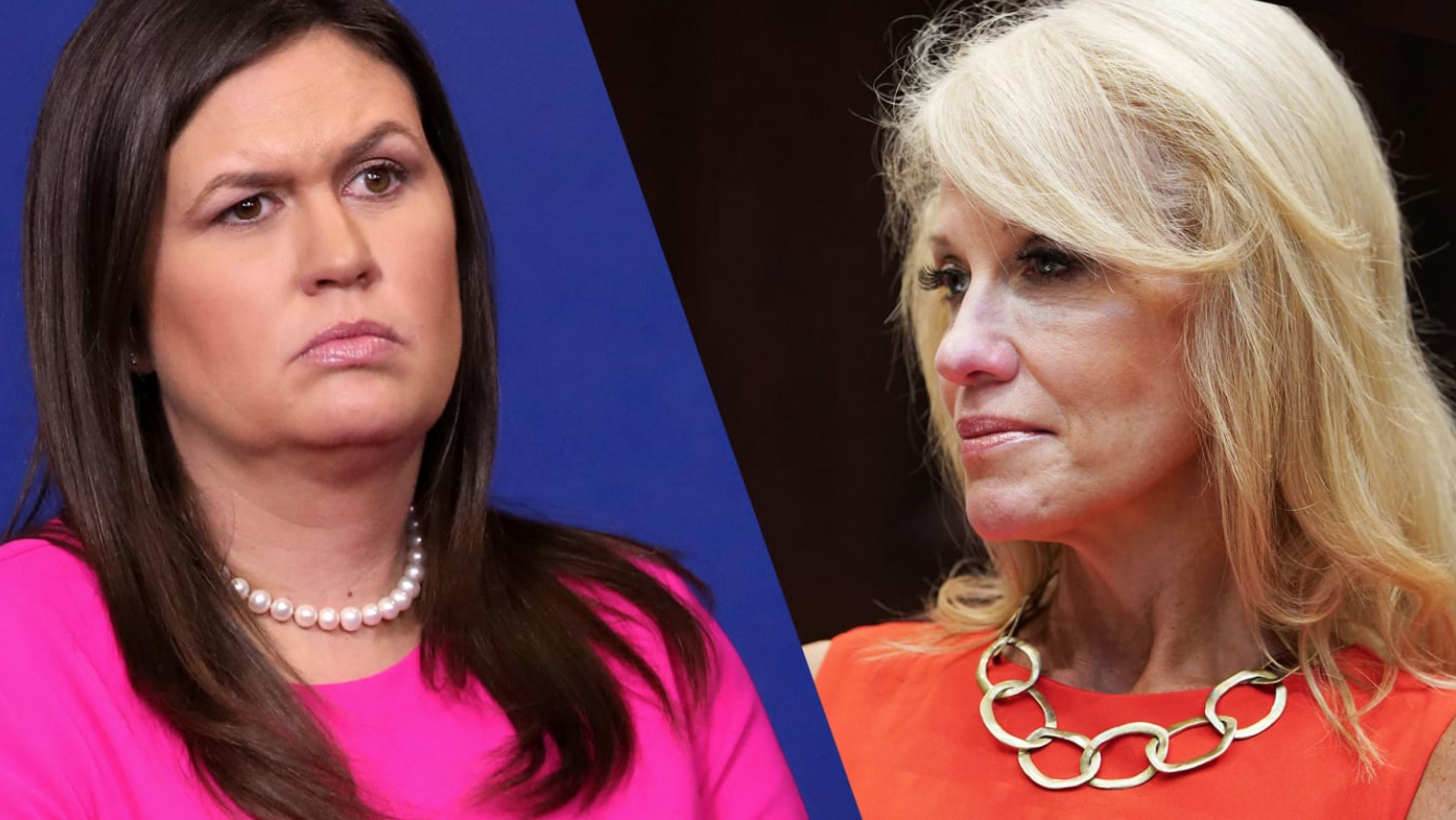 Trump's Favorite Spokesholes (Sarah S. & Kellyanne C.) Silenced By Controversy (#GotBitcoin?)