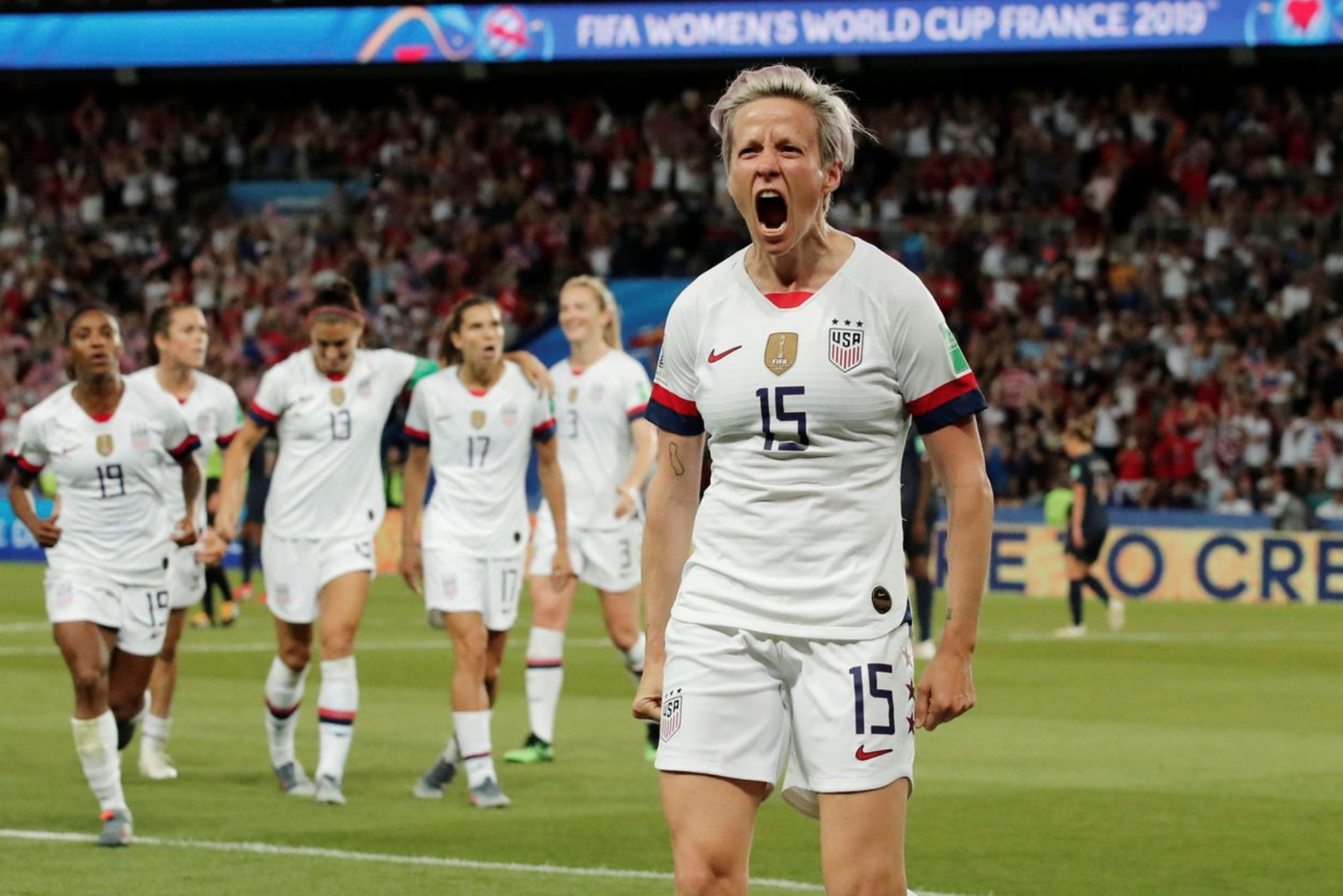 Megan Rapinoe Rips Trump WH Visit, Says She'd Accept Invites From Pelosi, AOC (#GotBitcoin?)