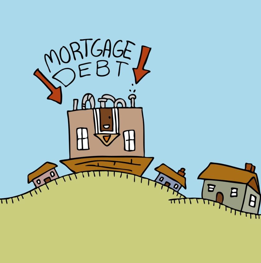 U.S. Mortgage Debt Hits Record, Eclipsing 2008 Peak (#GotBitcoin?)