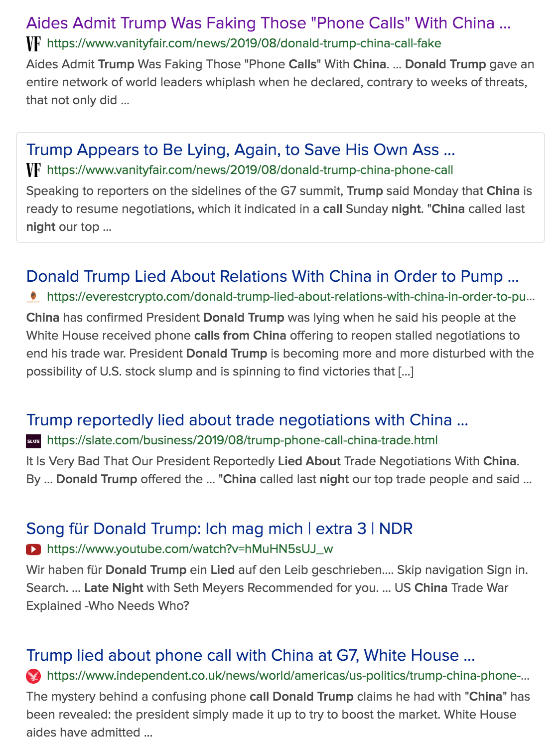 "Aides Admit Trump Was Faking Those ""Phone Calls"" With China (#GotBitcoin?)"