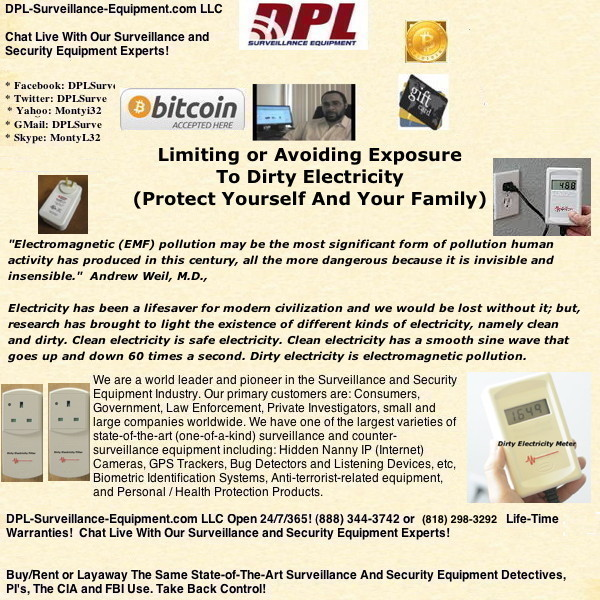 Limiting Or Avoiding Exposure To Dirty Electricity (Protect Yourself And Your Family)