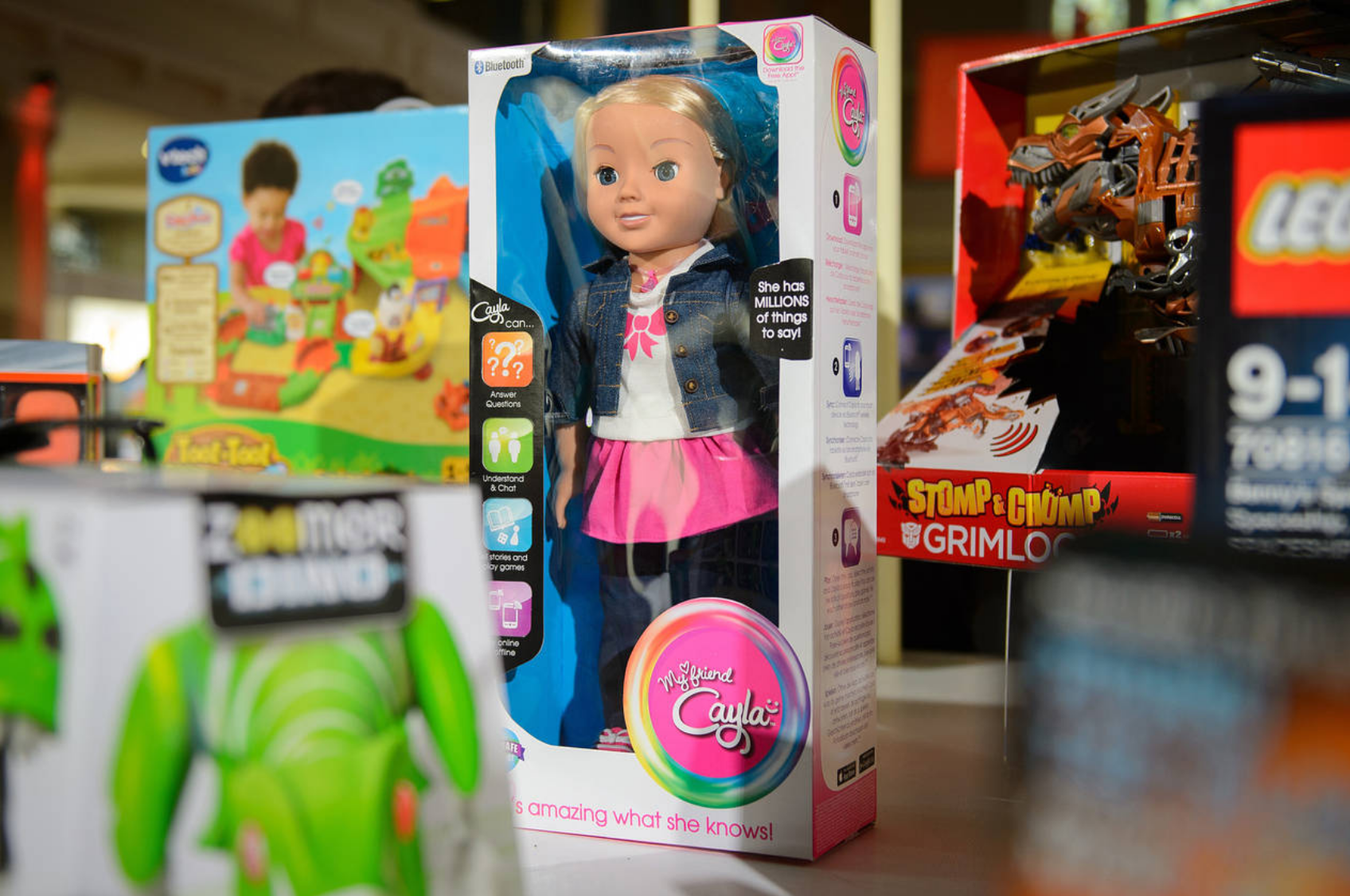 Is Cayla The Toy Doll A Domestic Spy?