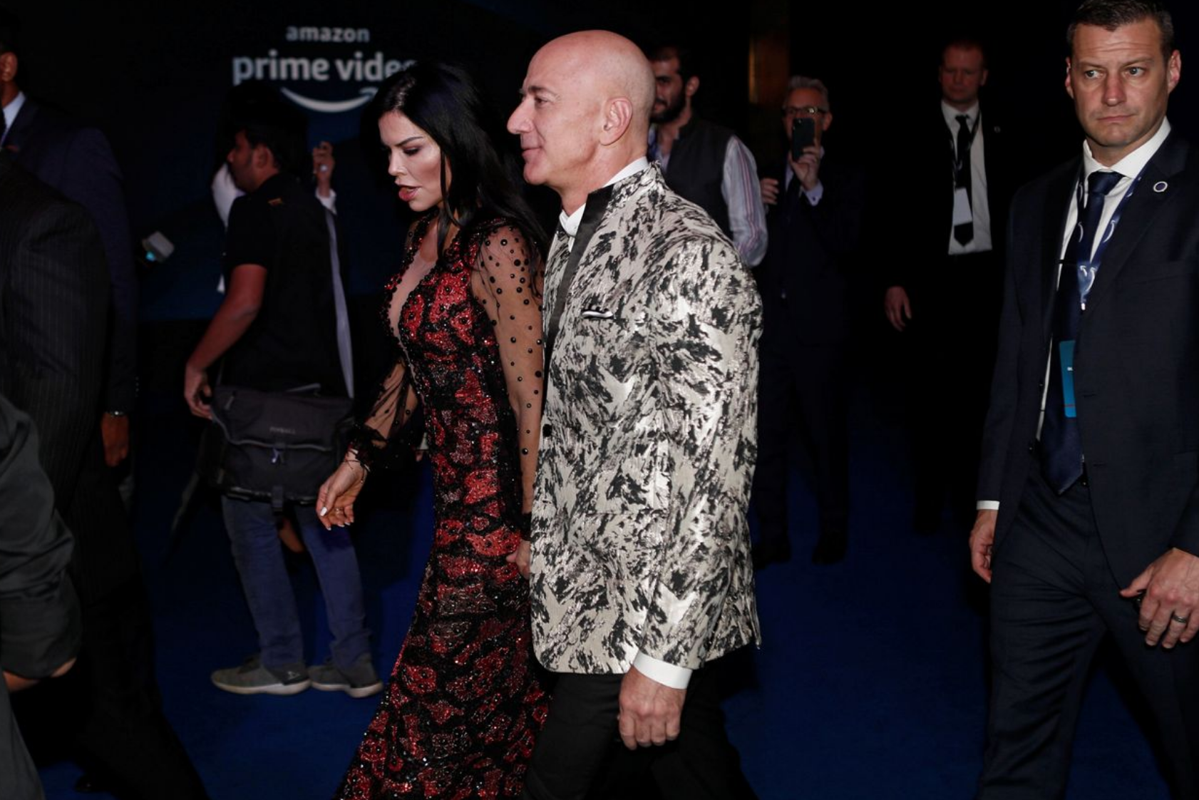 Bezos' Phone Allegedly Hacked By Account Associated With Crown Prince