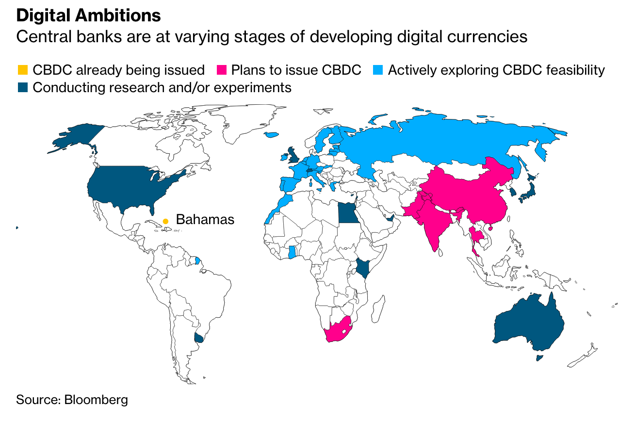 Central Banks Warm To Issuing Digital Currencies (#GotBitcoin?)