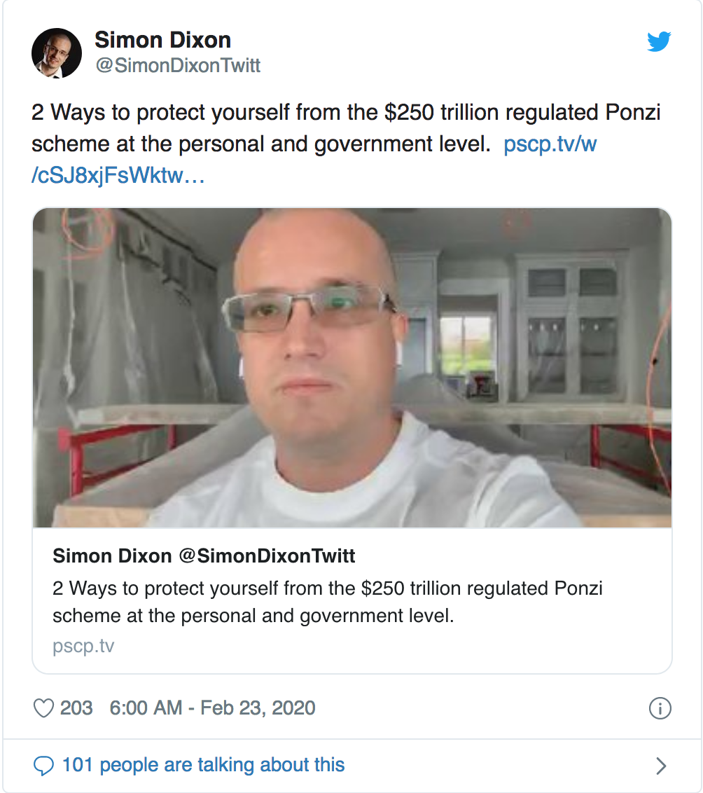2 Ways To Protect Yourself From The $250 Trillion Regulated Ponzi Scheme At The Personal And Government Level
