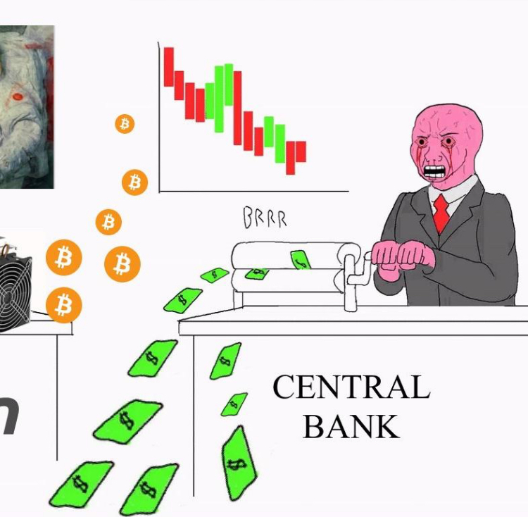 If Central Banks Can Print Money, Why Do Citizens Pay Taxes? (#GotBitcoin?)