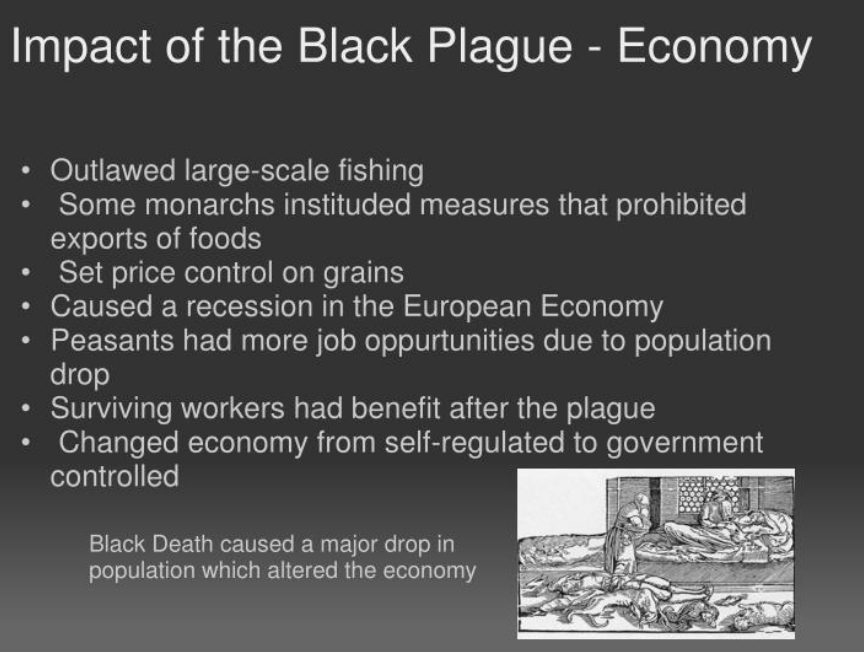 Economic Effects Of The Black Death And What US Citizens Could Learn About Wealth Redistribution