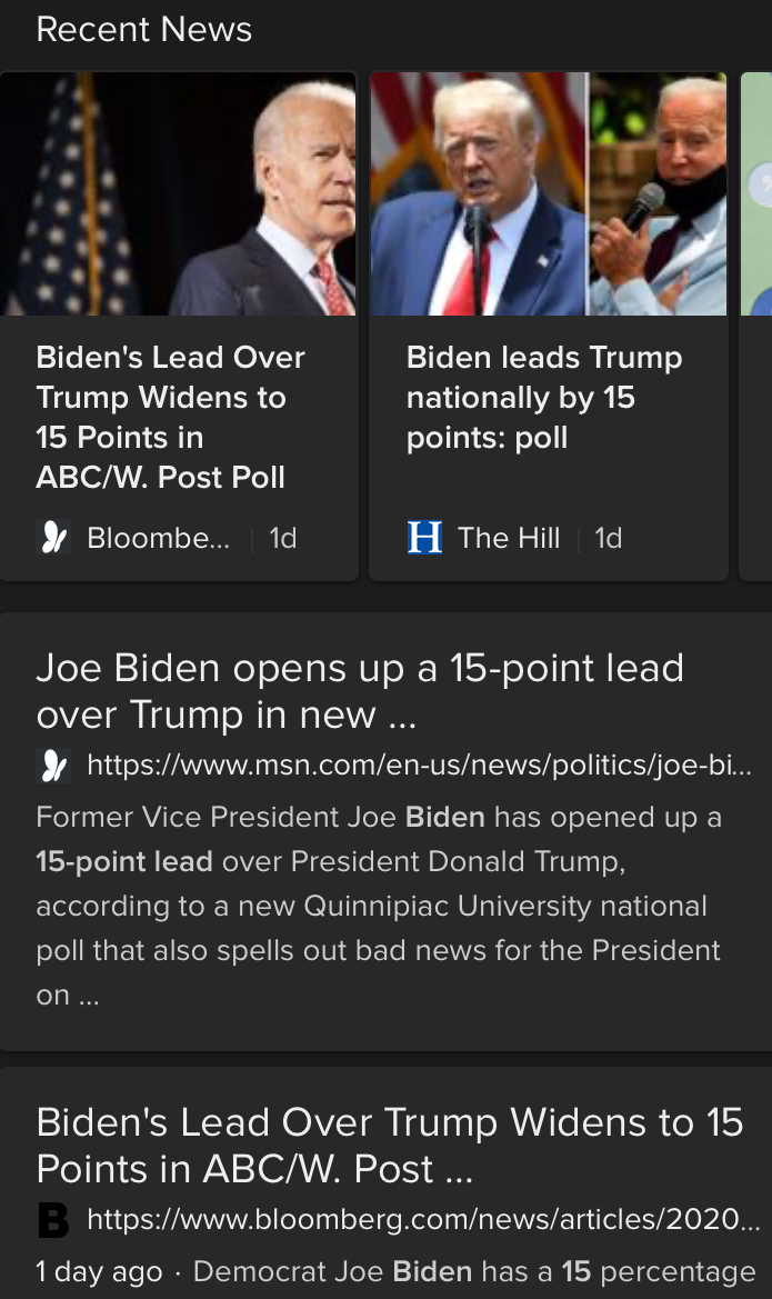 Joe Biden Tops Donald Trump In Polls And Leads In Fundraising (#GotBitcoin?)