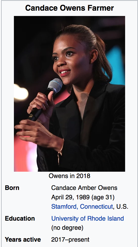 Candace Amber Owens Farmer: The Truth
