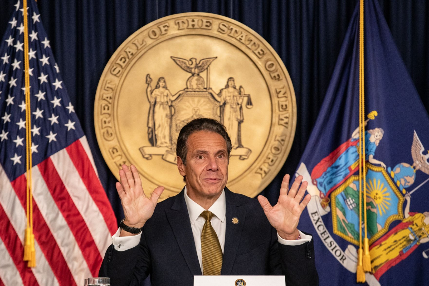Governor Cuomo Gets Emmy For 'Leadership' During Pandemic. Trump Gets Nada, Zip, Bumpkis, Zelch!!