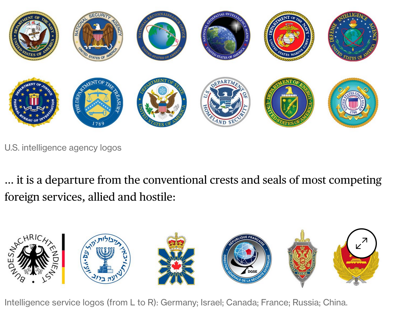 The US Central Intelligence Agency Unveils A New Look For A New Era