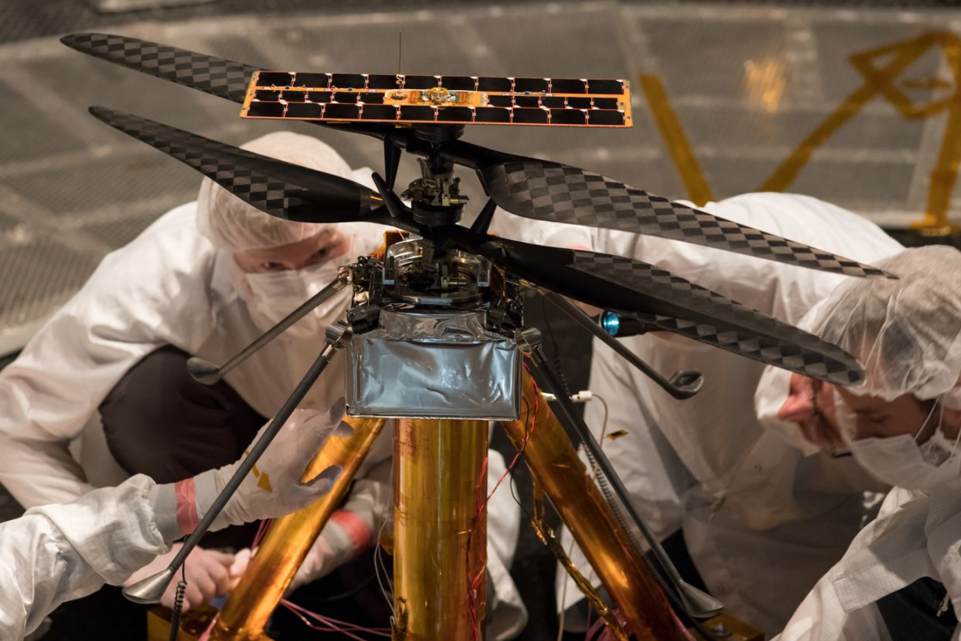 NASA's Ingenuity Mars Helicopter Gets Set For Historic First Flight On Another World