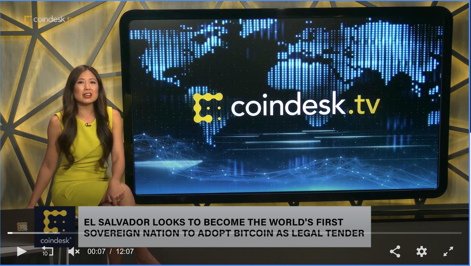 El Salvador Plans Bill To Adopt Bitcoin As Legal Tender